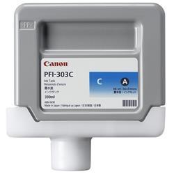 Canon PFI-303C (Cyan) Ink Tank 330ml