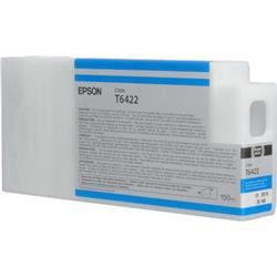 Epson T6422 UltraChrome K3 Ink Cartridge - 150ml (Cyan) for Epson Stylus Pro 7700/9700