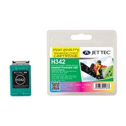 Jet Tec HP Compatible HP342/C9361EE (3x4ml) Remanufactured Colour Inkjet Cartridge