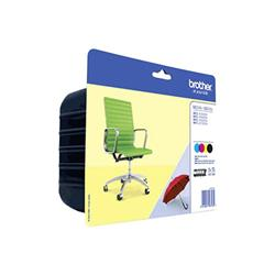 Originale Brother LC-229XLVALBP Conf. 4 cartucce inkjet LC-229XLBK + LC-225XL CYM
