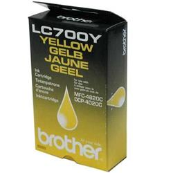 Brother Fax Inkjet Cartridge Yellow for MFC4820C Ref LC700Y