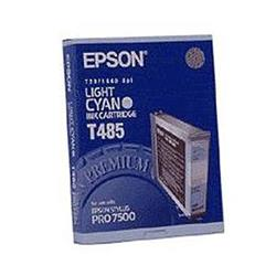 Epson T485 Light Cyan Ink Cartridge for Stylus Pro 7500