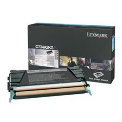 Lexmark Black Toner Cartridge (Yield 8,000 Pages) for C734/C736/X734/X736/X738