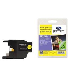 Jet Tec Brother Compatible LC1240Y (7.1ml) Remanufactured Inkjet Cartridge