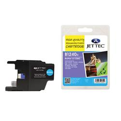 Jet Tec Brother Compatible LC1240C (7.1ml) Remanufactured Inkjet Cartridge