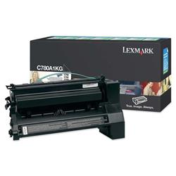 Lexmark C780/C782 Black Return Program Toner Cartridge Ref 0C780A1KG