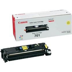 Canon 701 Y Yellow Toner Ref 9284A003AA