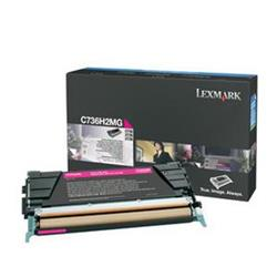 Lexmark Magenta High Yield Toner Cartridge (Yield 10,000 Pages) for C736/X736/X738 Colour Laser Printers