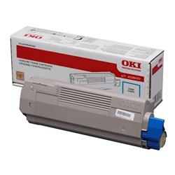 OKI Cyan Toner Cartridge (Yield 6,000 Pages) for MC760/MC770/MC780 Multi Function Printers