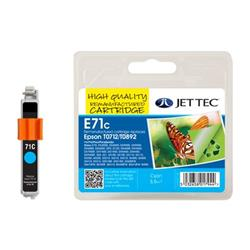 Jet Tec Epson Compatible T0712/T0892 (5.5m) Remanufactured Inkjet Cartridge