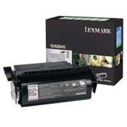Lexmark Optra T 25k High Yield Return Program Black Laser Toner Print Cartridge Ref 12A5845
