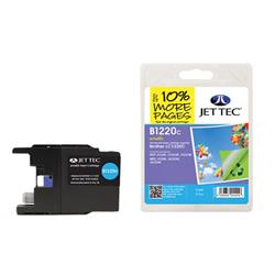 Jet Tec Brother Compatible LC1220C (5.5ml) Remanufactured Inkjet Cartridge