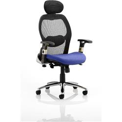 Sanderson Executive Chair Serene Colour Seat With Arms Ref KCUP0539