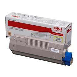OKI Yellow Toner Cartridge (Yield 6,000 Pages) for MC760/MC770/MC780 Multi Function Printers