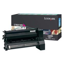 Lexmark C782 Magenta Extra High Yield Return Program Print Cartridge Ref 0C782X1MG