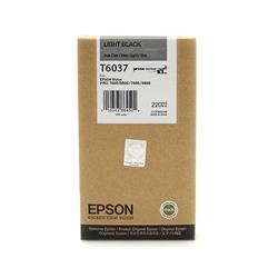 Epson T6037 Light Black (220ml) Ink Cartridge for Stylus Pro 7800/9800/7880/9880 Printers