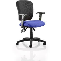 Toledo Task Operator Chair Serene Colour Seat With Arms Ref KCUP0587