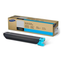 Samsung C809 (Yield 15,000 Pages) Cyan Toner Cartridge