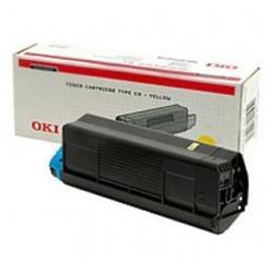 OKI Yellow 3k Toner Cartridge for C3100 Ref 42804513
