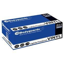 Vinyl Gloves Powdered Medium Blue [50 Pairs]
