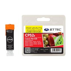 Jet Tec Canon Compatible PGI-520 (19ml) Remanufactured Inkjet Cartridge
