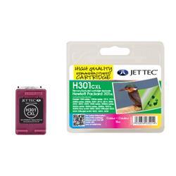 Jet Tec HP Compatible HP301XL/CH564EE (3x6ml) Remanufactured Colour Inkjet Cartridge