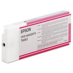 Epson T6063 Vivid Magenta Ink for Stylus Pro 4880