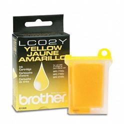 Brother LC02Y Yellow Ink Cartridge for Brother MFC-7150/MFC-7160/MFC-9100