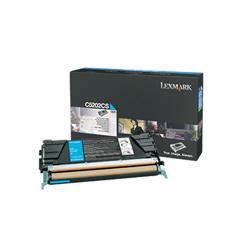 Lexmark Cyan Toner Cartridge for C520/C530 (Yield 1,500 pages)