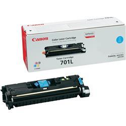 Canon 701 C Cyan Toner Ref 9286A003AA