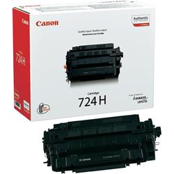 Canon 724H (Black) High Capacity Toner Cartridge (Yield 12,500 Pages)