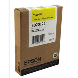 Epson High Capacity Yellow Inkjet Cartridge for Stylus Color 3000/Stylus Pro 5000 Ref C13S020122
