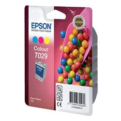 Epson T029 Inkjet Cartridge Sweets Page Life 300pp Colour Ref C13T02940110
