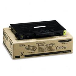 Xerox Laser Toner Cartridge Page Life 5000pp Yellow Ref 106R00682