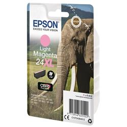 Epson 24XL Inkjet Cartridge Capacity 9.8ml Page Life 740pp Light Magenta Ref T24364010