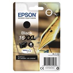 Epson Black Pen and Crossword 16XXL Ink Cartridge for WF-2660DWF Ref C13T16814010