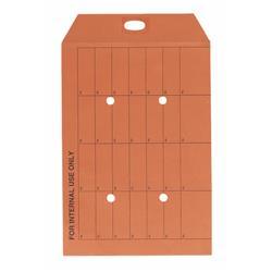5 Star Office Internal Mail Envelopes Pocket Resealable 120gsm Orange C4 [Pack 250]