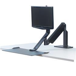 Piattaforma di lavoro Extend Sit-Stand Fellowes - monitor doppio - 0009701