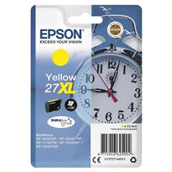 Epson 27XL Inkjet Cartridge Alarm Clock Capacity 10.4ml Yellow Ref C13T27144012