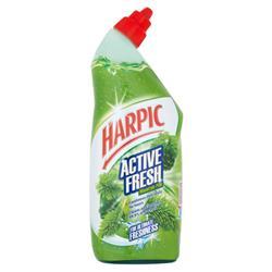 Harpic Active Toilet Cleaning Gel Fresh Power Pine 750ml Ref N07566