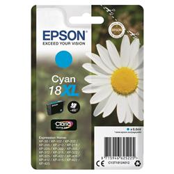 Epson 18XL Inkjet Cartridge Daisy High Capacity 6.6ml 450pp Cyan Ref C13T18124012