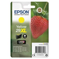 Epson No. 29XL InkJet Cartridge 450pp 6.4ml Yellow Ref C13T29944012