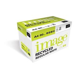 Image Recycled Iso80 100%Recycled A4 210X297mm 80Gm2 Ref 69056 [Pack 2500]