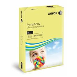 Xerox Symphony Pastel Yellow A4 210X297mm 160Gm2 PEFC2 Ref 003R93231 [Pack 1250]