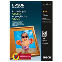 Epson Photo Paper Gloss 200gsm A4 Ref S042538 [Pack 20]