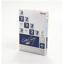 Color Copy Paper Coated Silk White FSC4 A4 210x 297mm 135gm Ref 24884 [Pack 250]