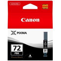 Canon PGI-72 Inkjet Cartridge Page Life 1640pp Photo Black Ref 6403B002
