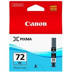 Canon PGI-72 Inkjet Cartridge Page Life 351pp Photo Cyan Ref 6407B002