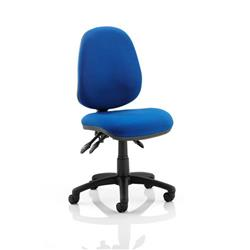 Trexus Operator Chair Flat Packed Fabric Blue Ref OP000083