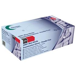 Medical Gloves Sensitive Powder-free Extra Large Blue [Pack 200]
